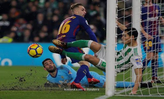 لاعبو ريال بيتيس يوضحون سبب السقوط أمام برشلونة