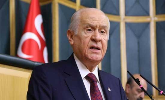 زعيم حزب الحركة القومية التركية : على أردوغان أن يرسل الجيش الى فلسطين .. بالفيديو