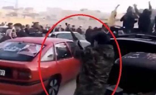 بالصور : ضبط شخص ظهر بمقطع فيديو وهو يطلق النار في البادية الشمالية