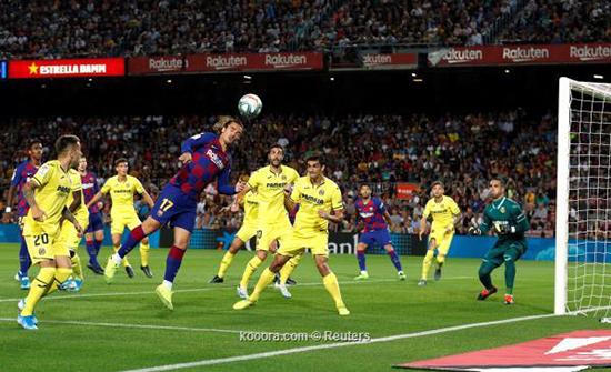 بالصور.. برشلونة يستعيد طريق الانتصارات بثنائية ضد فياريال