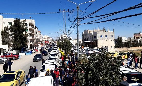 اعتصام لبحارة الرمثا للمطالبة بفتح حدود جابر