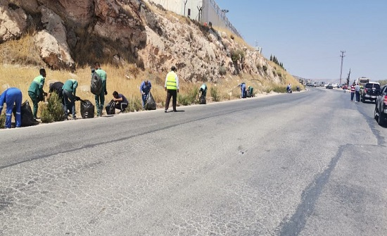 صور  : بلدية وادي الحور تنفذ حملة نظافة شاملة تحظى برضا المواطنين