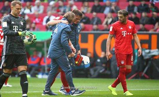 الرباط الصليبي يصطاد لاعب بايرن ميونخ نيكلاس سولي