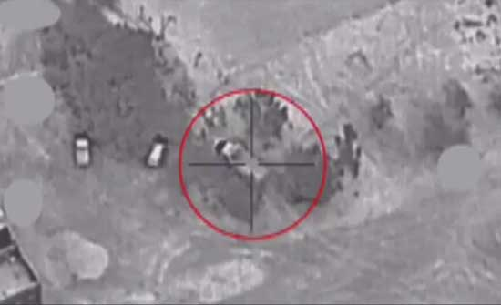 التحالف يدمر منصة إطلاق صواريخ ومسيرات حوثية مفخخة في الجوف