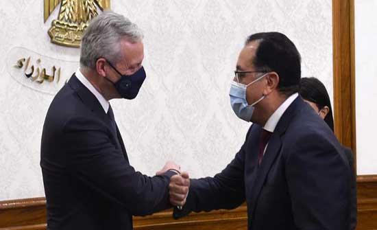 مصر توقع اتفاقات تمويل مع فرنسا بقيمة 1.7 مليار يورو