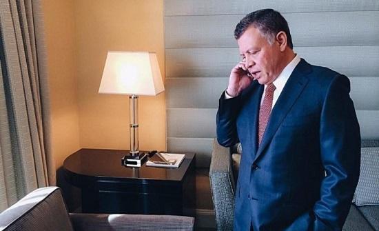 الملك يطمئن في اتصال هاتفي على صحة الروابدة