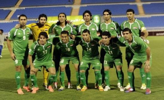 منتخب العراق يبدأ تدريباته في عمان استعدادا للقاء نظيره الايراني
