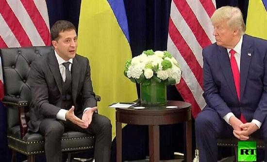 ترامب لا يستبعد نشر نسخة من اتصال آخر مع زيلينسكي