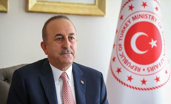 تشاووش أوغلو: نقف إلى جانب أذربيجان في الميدان وعلى طاولة المفاوضات