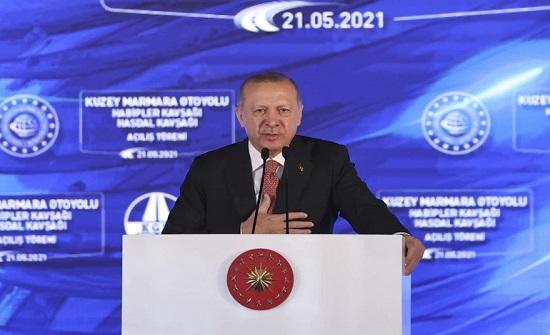 أردوغان: لن نسكت إلى أن يعرف العالم بأسره أن إسرائيل دولة إرهابية
