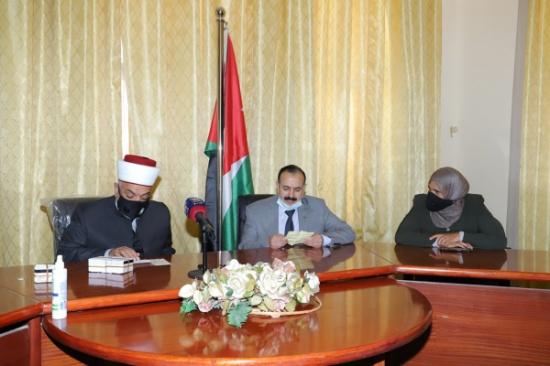 وزير الأوقاف يفتتح الملتقى الخيري في لواء ذيبان
