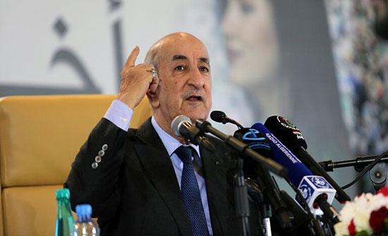 """تبون يبحث خطة """"الإنعاش الاقتصادي"""" في الجزائر"""