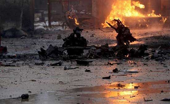 """مقتل مدني وإصابة 8 في تفجير إرهابي بـ""""جوبان باي"""" السورية"""