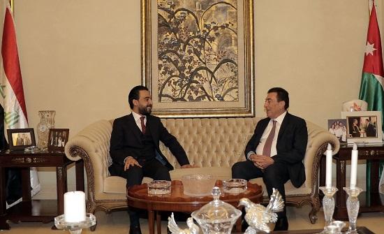 الطراونة يلتقي الحلبوسي ويؤكد ثبات الأردن في دعم العراق