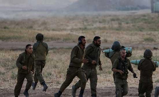 قذيفة هاون تصيب جنديا إسرائيليا قرب قطاع غزة