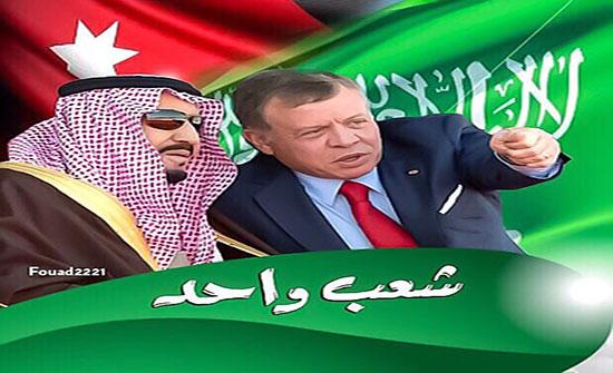 الملك وخادم الحرمين الشريفين يبحثان العلاقات الأخوية الراسخة بين البلدين