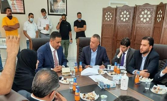 لجنة الاقتصاد النيابية تزور حدود جابر ومدينة الحسن الصناعية