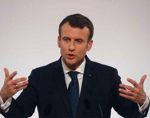 الرئيس الفرنسي يحذر تركيا من عملية سوريا