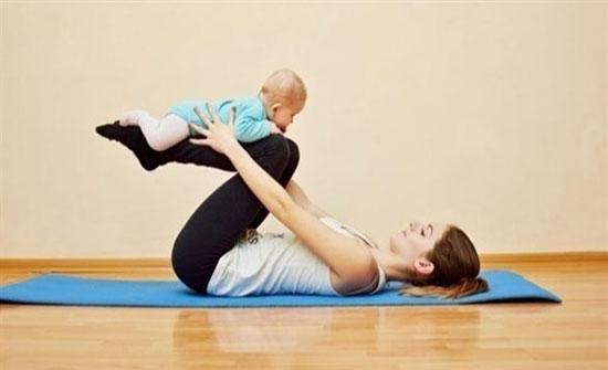 التمارين وسيلتك للوقاية من اكتئاب ما بعد الولادة