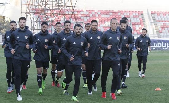 المنتخب الوطني لكرة القدم يبدأ تدريباته في ماليزيا
