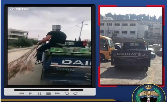 بالفيديو : ضبط سائق ترك مركبة غاز تسير وحدها