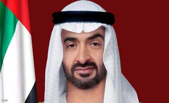 محمد بن زايد يلتقي رئيس إقليم كردستان العراق