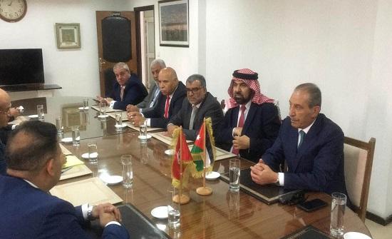 وفد نيابي اردني يشارك في الصالون الفلاحي بتونس