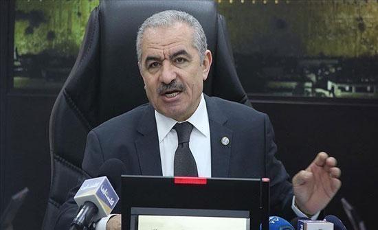 رئيس الوزراء الفلسطيني: اسرائيل تسابق الزمن لفرض الاستيطان