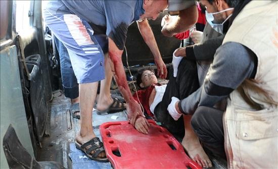 بينهم طفلان.. إصابة 3 مدنيين في قصف لقوات الأسد على قرى إدلب