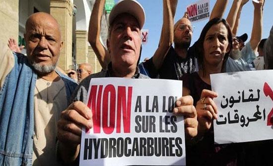 برلمان الجزائر يمرّر قانون المحروقات ويزيد من الغضب