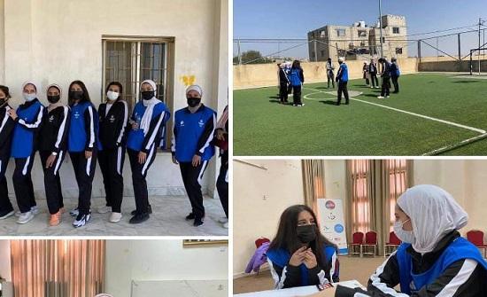 أنشطة شبابية في جرش وسحاب