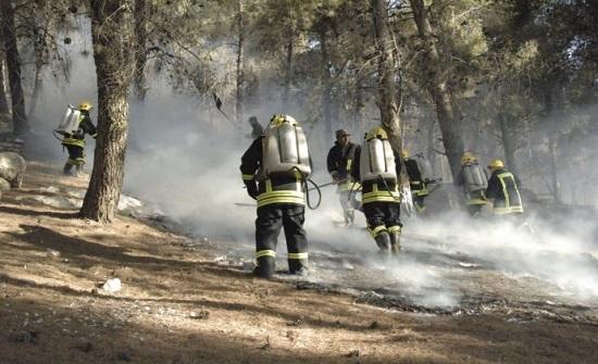 صور : الدفاع المدني يتعامل مع 240 حريقا خلال الـ24 ساعة
