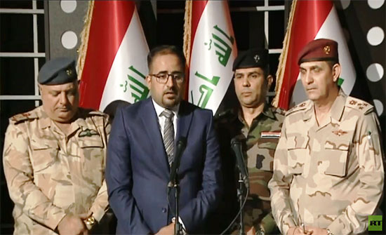 بالفيديو .. الداخلية العراقية: لم نطلق النار مباشرة على المتظاهرين