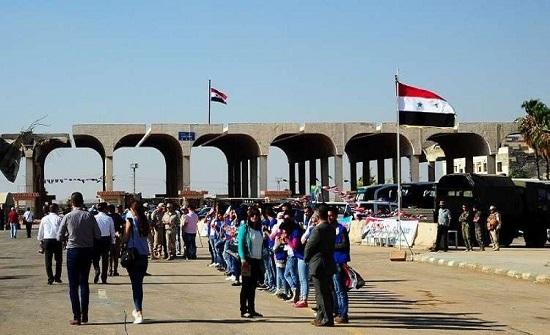 معدل عودة اللاجئين من الاردن إلى سوريا طواعية يوميا