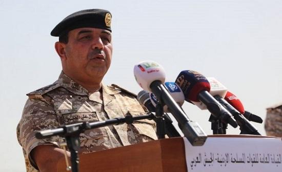 مدير التوجيه المعنوي يلتقي مرتبات قوة الانتشار السريع الأردنية