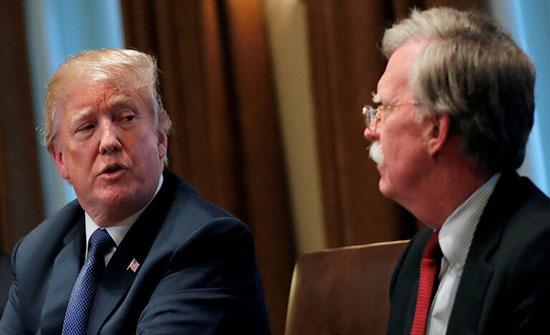 """""""الكشف عن سبب إقالة بولتون وتحضيرات أمريكية لعقد لقاء محتمل بين ترامب وروحاني"""