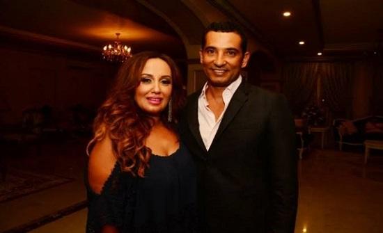 """زوجة عمرو سعد تعلن طلاقها منه رسميا : """" أعلن الآن حريتي الكاملة من القيود """""""