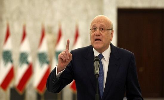 ميقاتي: إذا كانت العلاقات مع سوريا تعرض لبنان للمخاطر فلن أقبل بذلك