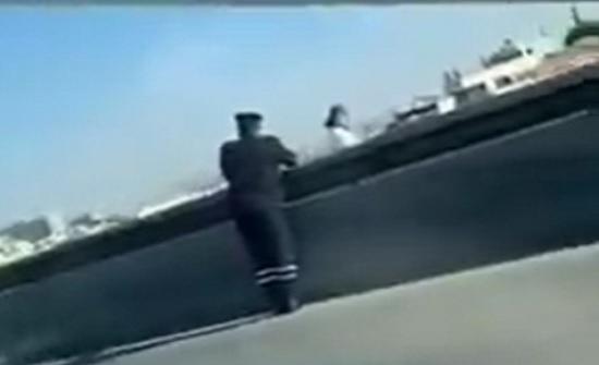 فتاة تهدد بالانتحار من أعلى جسر عبدون
