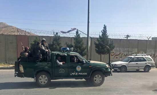 """وسائل إعلام: قوات """"طالبان"""" تدخل منطقة مطار كابل"""