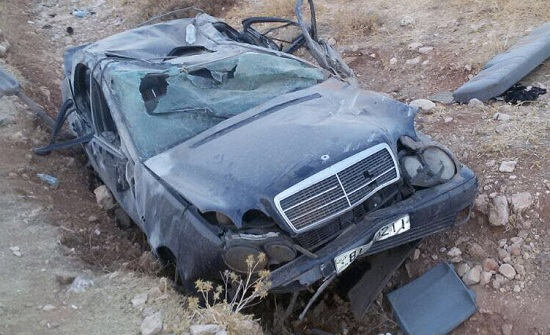 وفاة شخص و 6 إصابات اثر  تدهور مركبة في العقبة