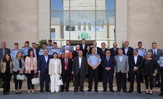 """مدير الأمن العام يلتقي """"جماعة عمان لحوارات المستقبل"""""""