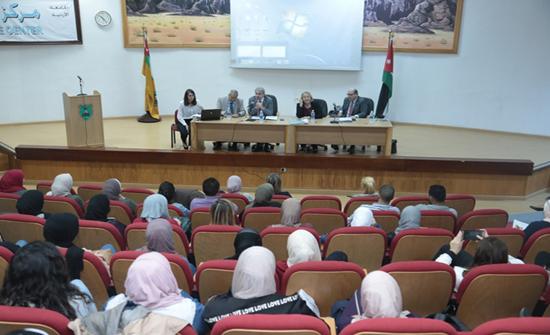 """وفد برلماني ألماني يزور """"الأردنية"""" للتعريف بالمنح البرلمانية الدولية"""