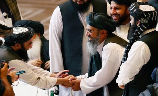 طالبان: اتفاق بالاجتماع الخماسي بالدوحة على بدء العمل بإلغاء أسماء قادة الحركة من القوائم السوداء