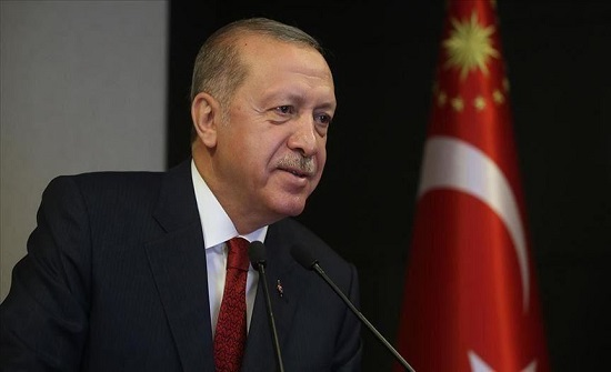 أردوغان: ننتقل إلى نظام جديد لمرحلة مابعد كورونا