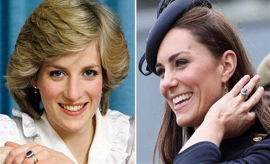 خاتم الأميرة ديانا الأيقوني... لماذا تخلّى عنه هاري لكيت ميدلتون؟