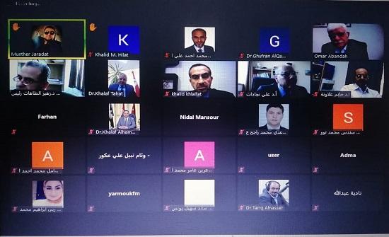 ندوة حول واقع الصحافة الأردنية باليرموك