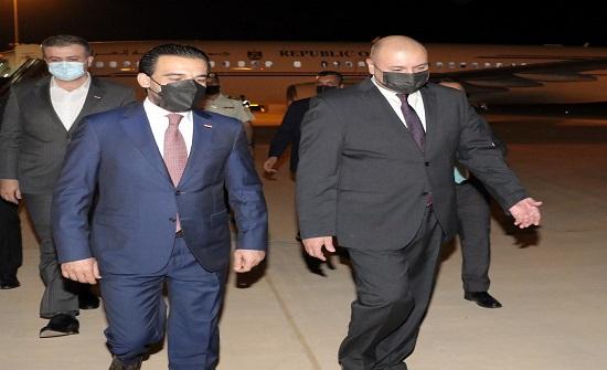 العودات يجري اليوم محادثات مع نظيره العراقي