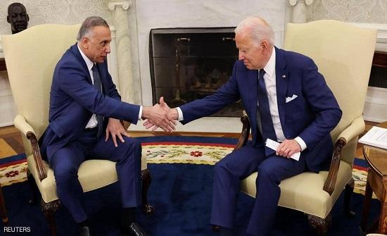 الكاظمي: زيارة واشنطن شهدت تفاهمات اقتصادية وسياسية وثقافية