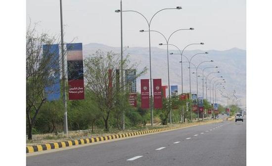 منع مرور الشاحنات عبر طريق البحر الميت